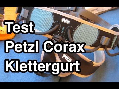 Klettergurt Empfehlung : Test petzl corax klettergurt klettersteiggurt