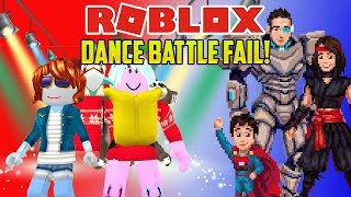 Roblox: DANCE OFF SALSA FAIL OMG