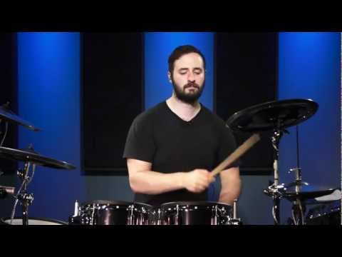 Practicing On Electronic Drums - Drum Lesson (DRUMEO)