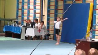Спортивная гимнастика. Соревнования на кубок ДЮСШ г Караганды.