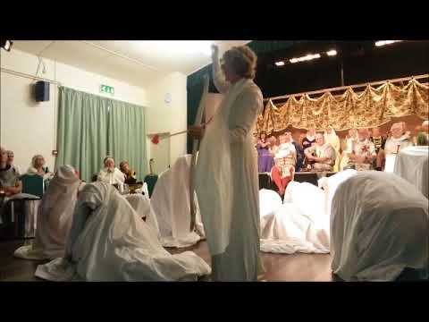Excerpts from rehearsal of King Arthur, 2015