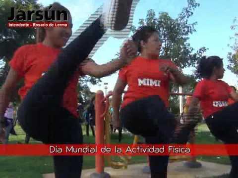 Día Mundial de la Actividad Física   Nota Leonardo Gutierrez   Dir  de Deportes