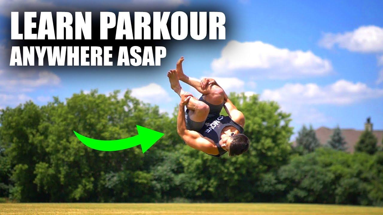 Learn Super Cool Parkour Flip Easy – Standing Side Flip