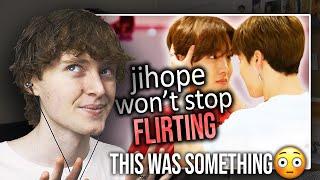 THIS WAS SOMETHING! (jihope won't stop flirting | Reaction/Review)