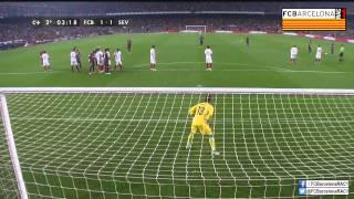T14/15 J12 Liga BBVA: FC Barcelona 5-1 Sevilla FC (RAC1)