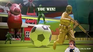The Mean Greens: Plastic Warfare: MOVE THAT HAMSTER!