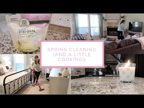 Spring Cleaning (and a little cooking!) | March 2019