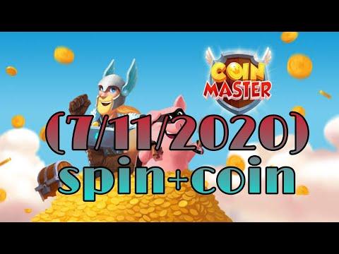 (Coin Master)แจกสปินฟรี เหรียญฟรี ลิ้งค์ 7/11/2020