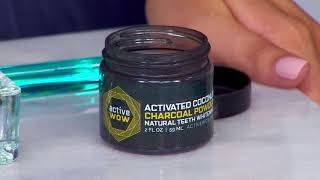How to use Active Wow Teeth Whitening Charcoal Powder