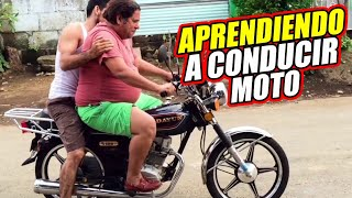 Aprendiendo a manejar moto - Vlog JR INN