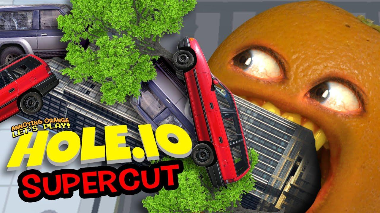 INTO THE HOLE!!! (Hole.io Supercut)