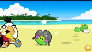 Angry Birds Surf and Turf All levels
