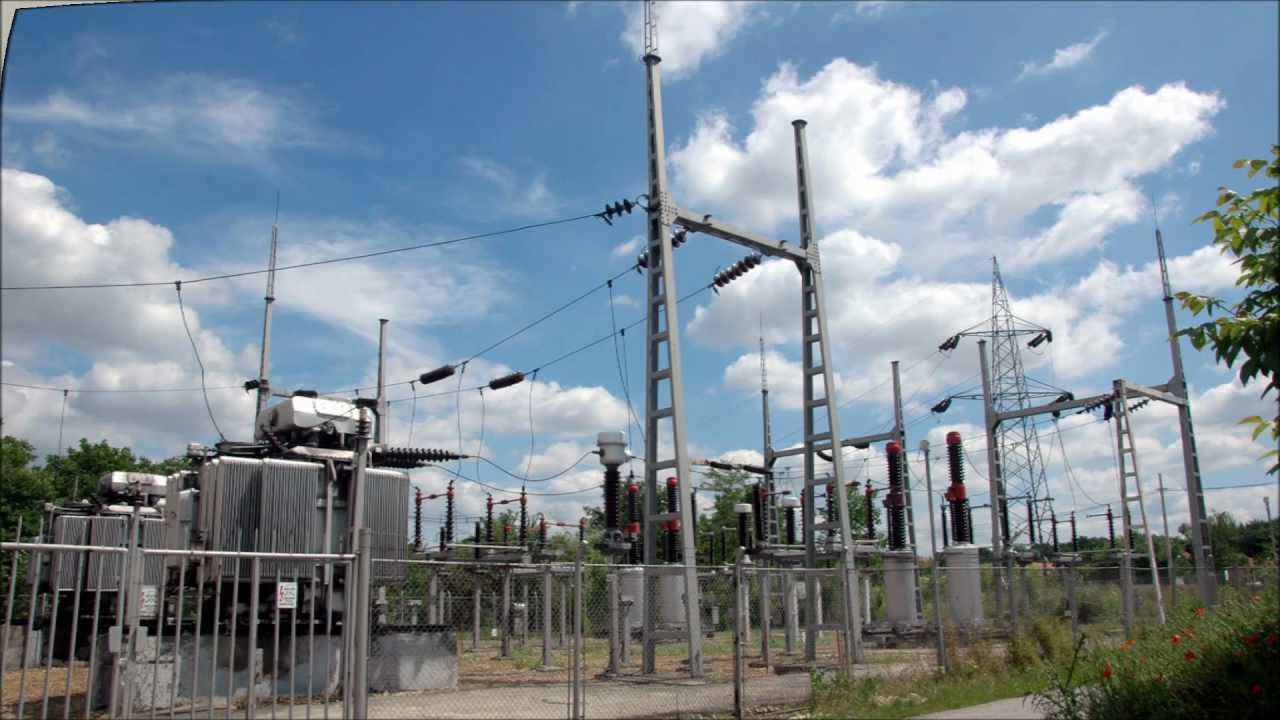 Transmission lines substations and distribution systems for Distribution substation