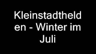 Kleinstadthelden - Winter im Juli