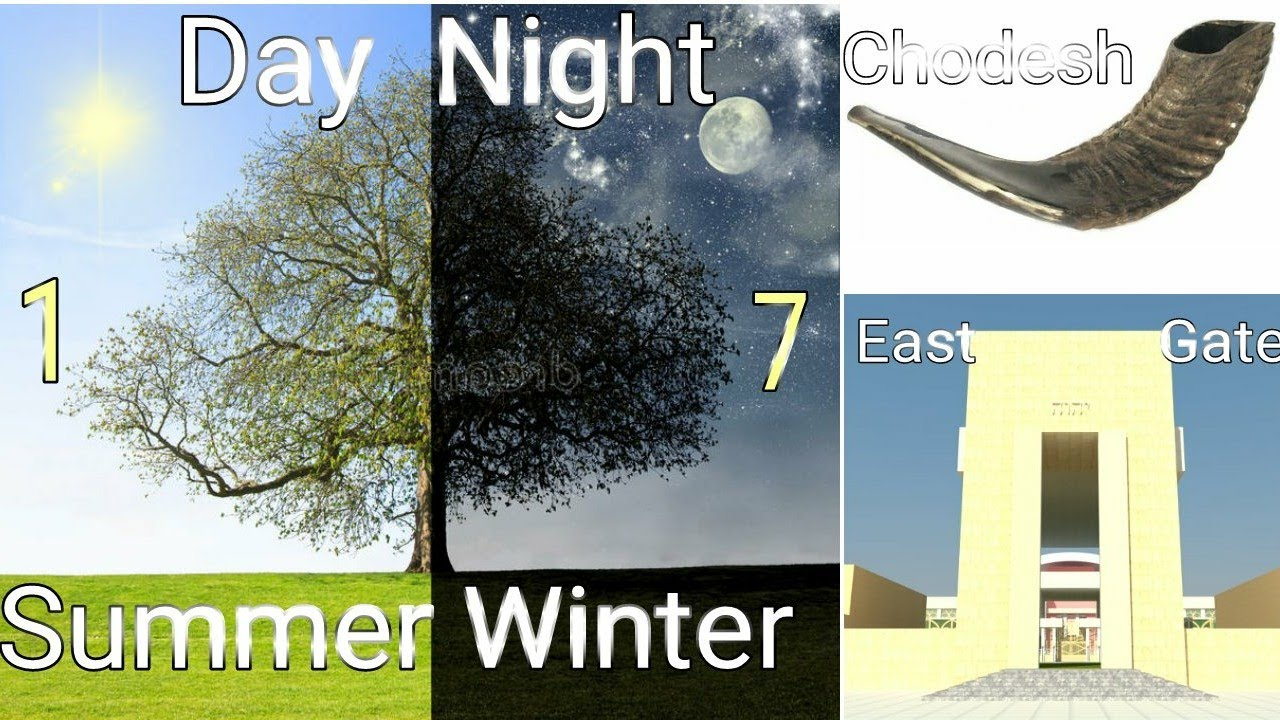 Day, Night, Summer & Winter - 1st of 1st and 7th Months LEELAND JONES 15FEB21