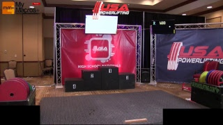 2017 USA Powerlifting High School Nationals Day 3 thumbnail