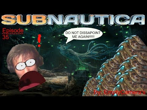 Subnautica E35|MEETING THE SEA EMPEROR & KILLING THE GHOST LEVIATHAN
