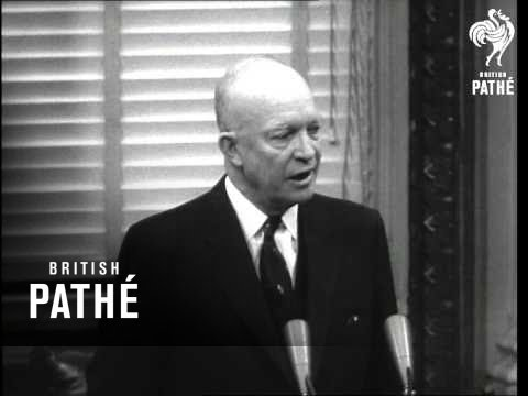 Eisenhower Gives Press Conference (1955)