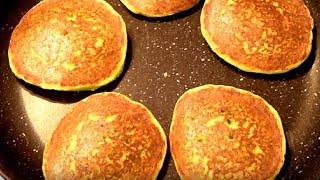 Кабачковые оладьи(панкейки). Обалденно вкусные,а готовить их очень просто.