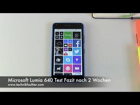 Microsoft Lumia 640 Test Fazit nach 2 Wochen