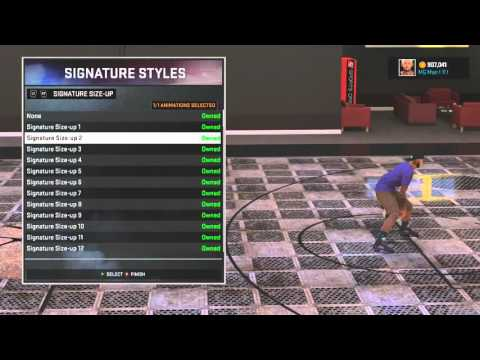NBA 2k16 Best Ankle Breaker Signature Skills and Size Up Combo