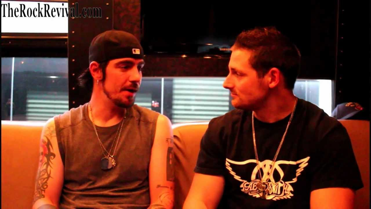 Three Days Grace Interview with Adam Gontier at Rock Allegiance Festival 2012