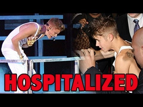 Justin Bieber COLLAPSES & HOSPITALIZED !!!