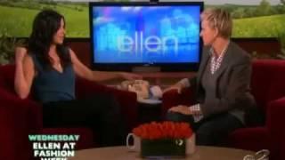 Courteney Cox on The Ellen DeGeneres Show - Full Interview (20.09.10)