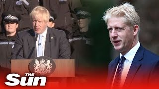 PM quizzed on brother Jo Johnson's resignation
