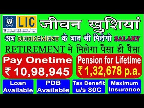 LIC's Best Pension Plan | पेंशन प्लान जीवनभर के लिए | Just Invest One Time & Get Pension Lifelong