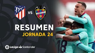 Resumen de Atlético de Madrid vs Levante UD (0-2)