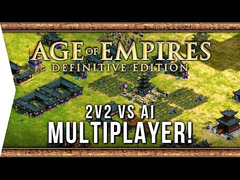 Age of Empires: Definitive Edition ► 2v2 Multiplayer VS AI Gameplay! - [Gamer Encounters]