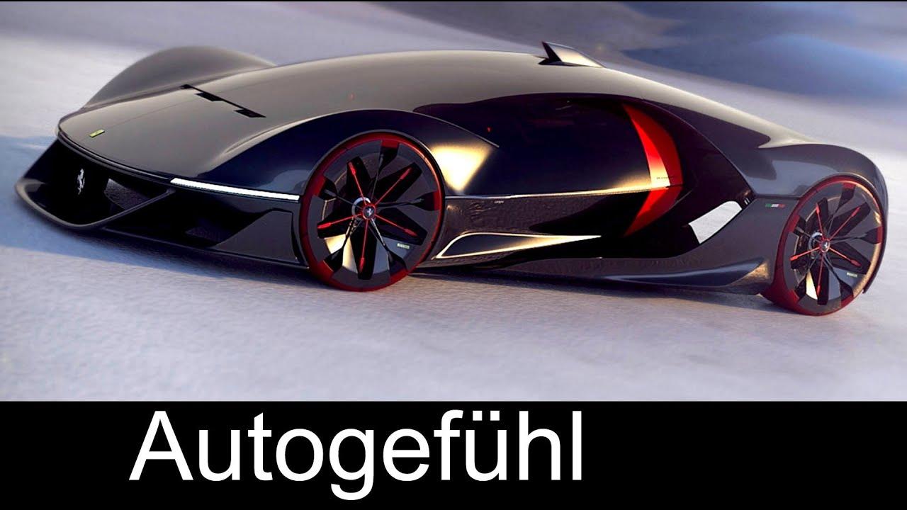 The Future Of Ferrari Concepts Manifesto Fl De Esfera Autogefühl Youtube