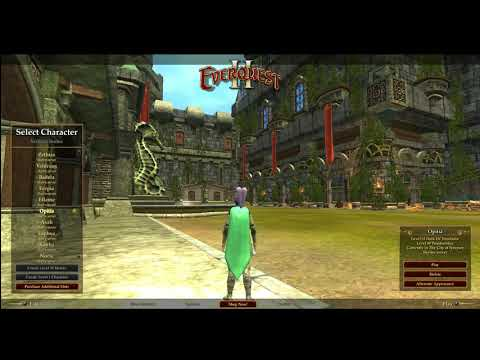 Let's Play: Everquest 2  – Episode 0 The Beginnening