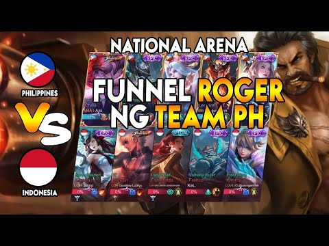 FUNNEL ROGER NG TEAM PH THE NEW META - National Arena