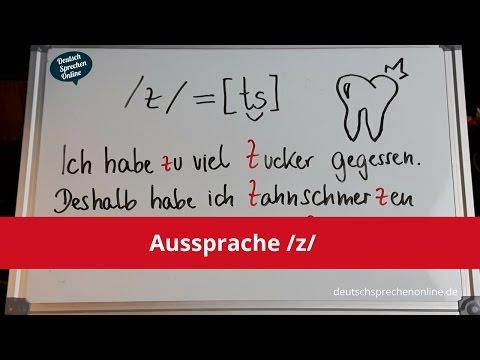 Deutsch: Aussprache /z/