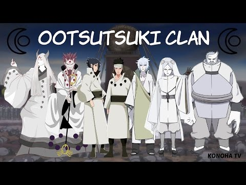 The Ōtsutsuki Clan - All Known Members (Update Momoshiki & Kinshiki)