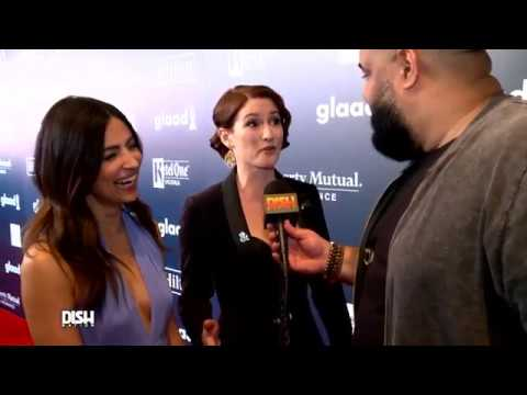 Chyler Leigh and Floriana Lima about their kiss in 2.09  Glaad awards 2017