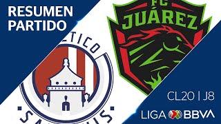 Resumen y Goles | San Luis vs FC Juárez | Jornada 8 - CL 2020 | Liga BBVA MX