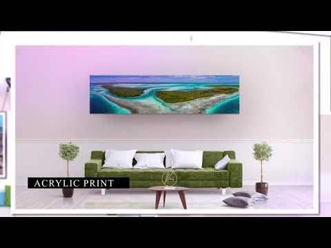 Wall Art Decor  Los Roques  Caribbean Archipelago – Venezuela