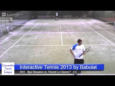 Interactive Tennis League 2013 by Babolat