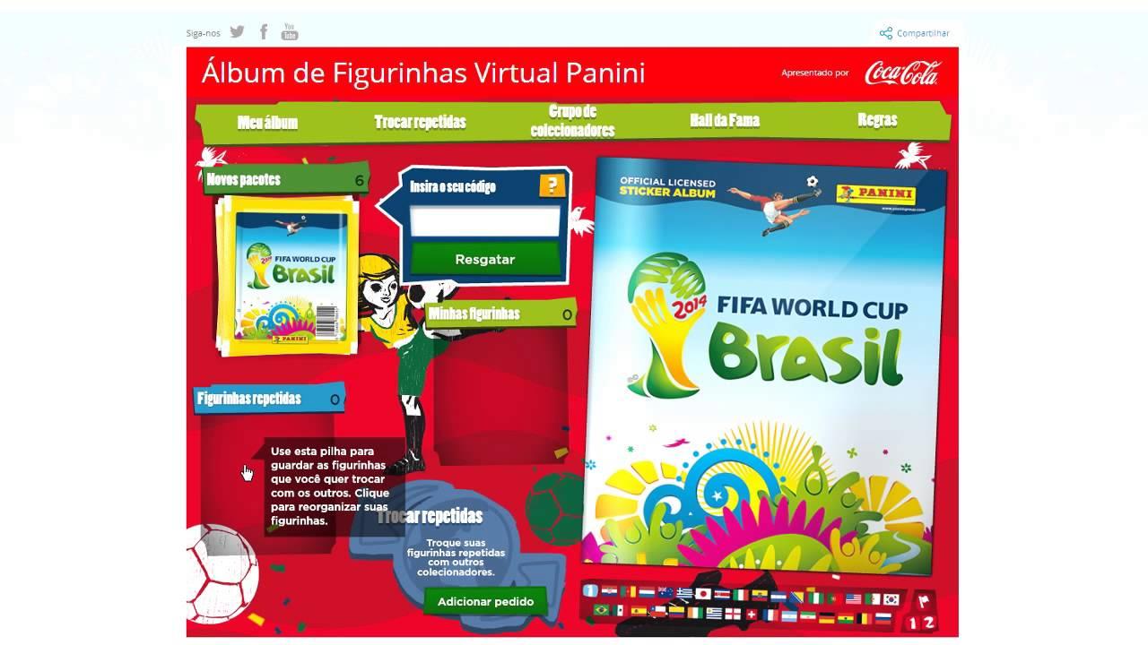 Álbum De Figurinhas Virtual Da Copa Do Mundo 2014 - YouTube 227ae66b46b