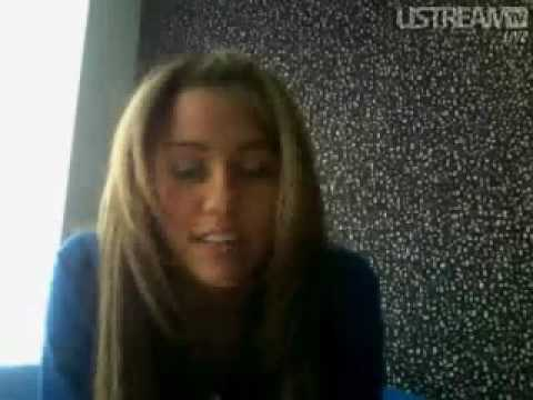 Miley Cyrus' First Live Chat: Answering MY QUESTION