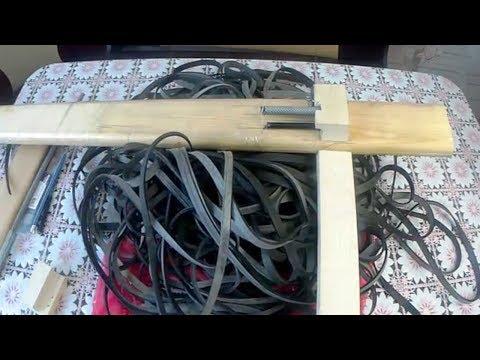 станок для резки резины для рыболовных сетей