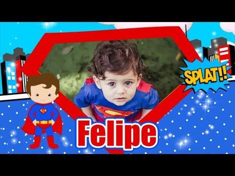 Convite Animado Virtual Super Man Baby Super Homem Cute Youtube