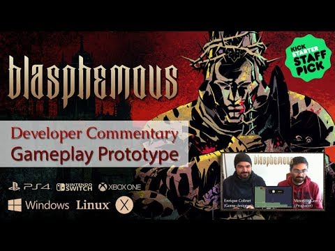 Blasphemous Gameplay Prototype with Dev Commentary