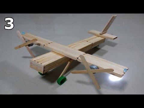 como-fazer-um-avião-bimotor-de-palitos-de-picolé---parte-3