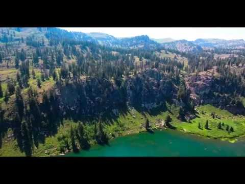 Tony Grove Drone in Logan Canyon Utah