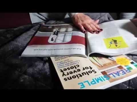 ASMR- Page turning Real Simple Magazine-No Talking