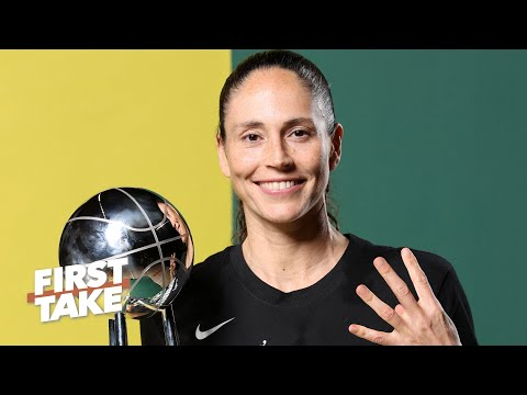 Sue Bird reacts to winning her fourth WNBA championship | First ...